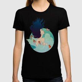 Underwater Lady T-shirt