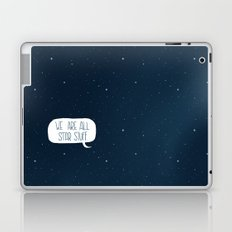 Star Stuff (Science Fiction Wrapping Paper No. 2) Laptop & iPad Skin