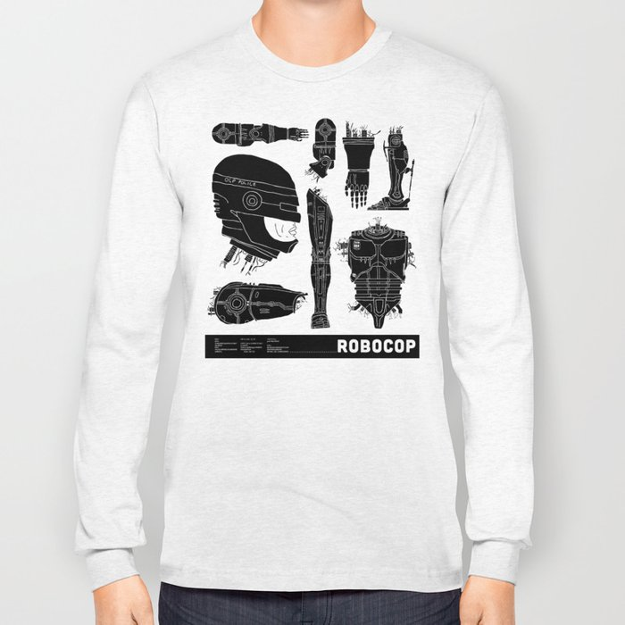 Decommissioned: Robocop Long Sleeve T-shirt