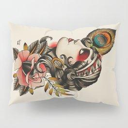 Gipsy girl - tattoo Pillow Sham