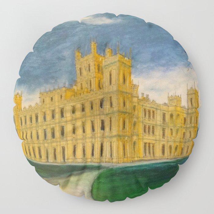 Downton Abbey – Highclere Castle Floor Pillow