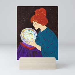 Divination by Mary Bottom Mini Art Print