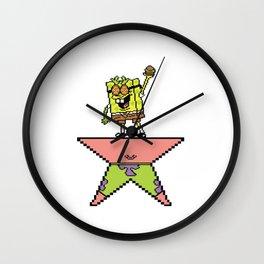 Spamilton Squaxander Wall Clock