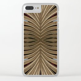 Wooden Frame with Lights Clear iPhone Case