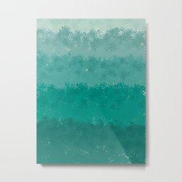 shrubs in the mist Metal Print