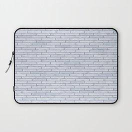 White Brick Wall Laptop Sleeve