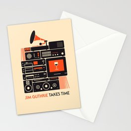 Jim Guthrie Takes Time Stationery Cards