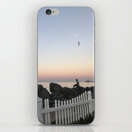 Oceanside, California evening sunset iPhone Skin