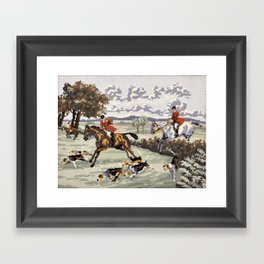 Tally Ho Framed Art Print