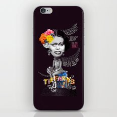 Breakfast At Tiffany's  iPhone Skin