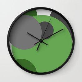 'Cirlcle of Life' Modern Art | Spots | Dots | Modern home Wall Clock