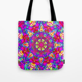 Abstract Flower AA YY BB Tote Bag