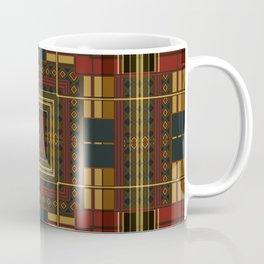 Diamond and Squares Coffee Mug