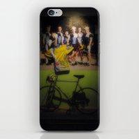 tour de france iPhone & iPod Skins featuring tour de france by Emanuele Reina