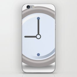 Clock Nine iPhone Skin
