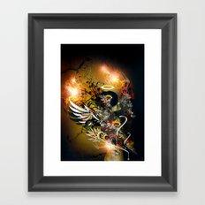 Satan Framed Art Print