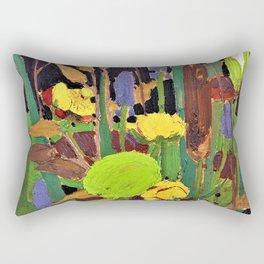 Tom Thomson - Water Flowers - Digital Remastered Edition Rectangular Pillow