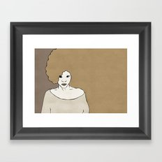 Female Four Framed Art Print