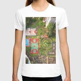 Singapore aerial drone T-shirt