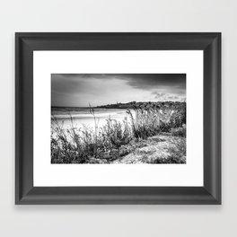 Beach in Ogunquit Framed Art Print