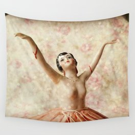 Dance in Sparkles Wall Tapestry