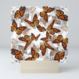 Monarch Migration Mini Art Print