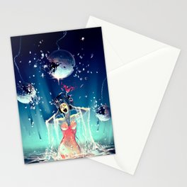 Voice of Crystal Stationery Cards