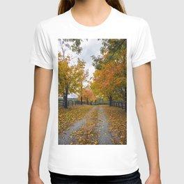 Autumn Driveway T-shirt