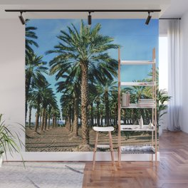 Date Palm Trees Wall Mural