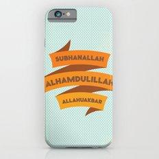 Subhanallah Alhamdulillah Allahuakbar iPhone 6s Slim Case