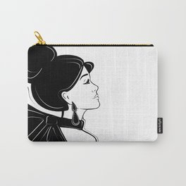 Vintage inspired Portrait Carry-All Pouch