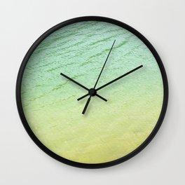 Shades of water Wall Clock