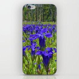 Field of Purple iPhone Skin