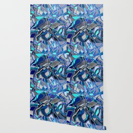 Abstract #8 - V - Deep Blue Sea Wallpaper