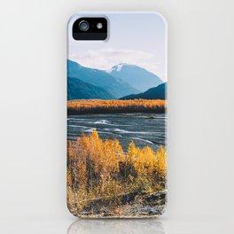 Alaskan Autumn - Kenai Fjords National Park iPhone Case