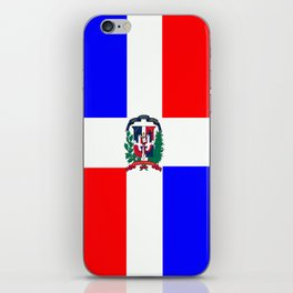 Flag of Dominican Republic iPhone Skin