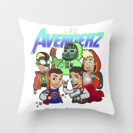 The Academy Toons Throw Pillow