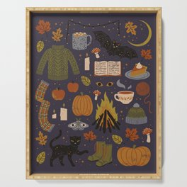 Autumn Nights Serving Tray