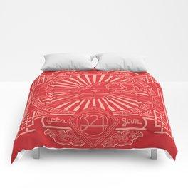 Let's Jam Comforters