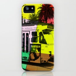 Melbourne Tram iPhone Case
