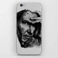 ford iPhone & iPod Skins featuring Harrison Ford by Sophie-Jay