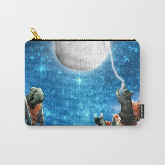 Feline Dreams Carry-All Pouch