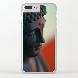 Housebound Buddha Clear iPhone Case