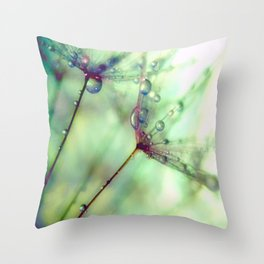 Wish With All Your Heart Throw Pillow
