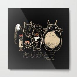Tribute for Miyazaki Metal Print