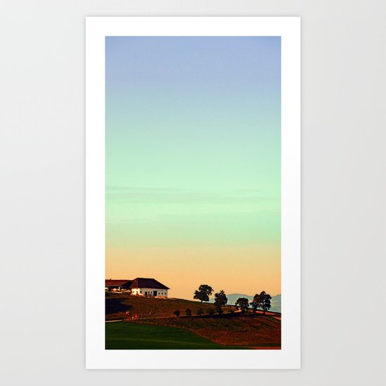 The silence of no lambs | landscape photography Art Print