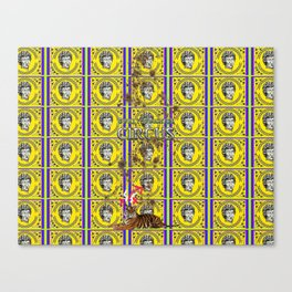 Bwilly Bwightt's Circus  Big Dirty Cat Canvas Print