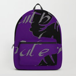Cute With A Dark Side Gothic Valentine Backpack