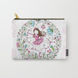 Sweet Ballerina Carry-All Pouch