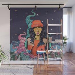 Hair Wall Mural